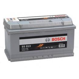 100Ah, 830A, 12V  Akumulators BOSCH S5013 (-+) 353x175x190mm +10% atlaide par veco akumulatoru