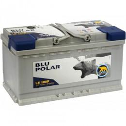 100Ah BAREN 870A,12V Akumulators BLU POLAR (-+) 353x175x190 12V