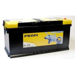 110Ah BAREN 950A,12V Akumulators PROFI (-+) 394x175x190 12V