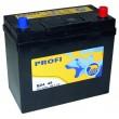 45Ah BAREN 360A,12V Akumulators PROFI (-+) 237x128x225