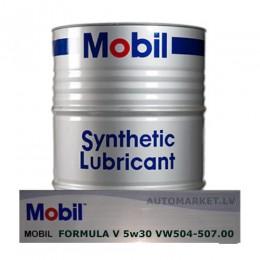 1L - 5w30 MOBIL SUPER 3000 Formula V  AUDI - SKODA - VW 504.00 - 507.00 Izlejamā motoreļļa 5w-30 plastika trauks bezmaksas