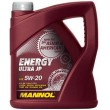 4L - 5W20 MANNOL ENERGY ULTRA JP sintetiskā motoreļļa 5w-20