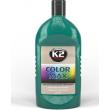 K2 COLOR MAX Tumši zaļš Auto virsbūves pulieris - krāsas atjaunotājs Dark Green 200ML