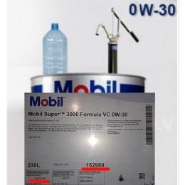 4L - 0w30 MOBIL  Formula VC VOLVO CARS MOBIL SUPER 3000 Izlejamā motoreļļa 0w-30