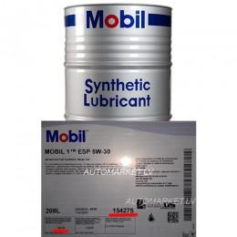 5w30 MOBIL 1 ESP formula Izlejamā motoreļļa 1L 5w-30  plastika trauks bezmaksas