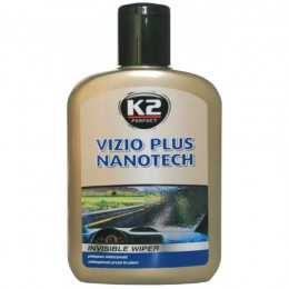 ANTI LIETUS Auto priekšēja loga kopšanas pulēšanas pretlietus līdzelis - K2 Vizio Plus Nanotech antilietus 200ml.