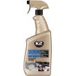 Nulles pretestības sporta gaisa filtrs - SILVER augst. 90mm Plat. 170mm -  max. d- 74mm
