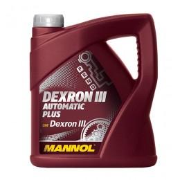 4L - ATF DEXRON III AUTOMATIC MANNOL eļļa - automatiskam kārbam un stūres pastiprinātājam