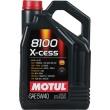 5L MOTUL 8100 X-cess 5W40 ACEA A3/B4 sintētiska motoru eļļa BMW LL-01, MB229.5, VW505  5w-40