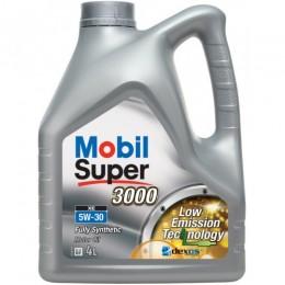 4L 5w30 XE MOBIL SUPER 3000  sintētiskā motoreļļa - 5w-30